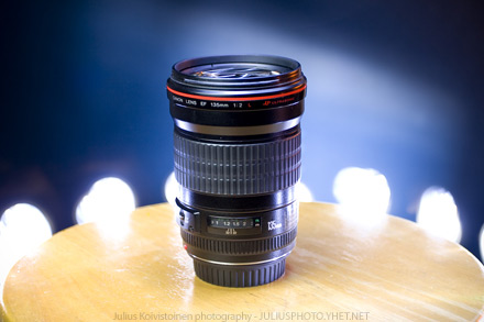 Canon EF 135mm f/2L USM. Photo by Julius Koivistoinen
